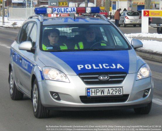 Policja Zawiercie: Wandale i włamywacze