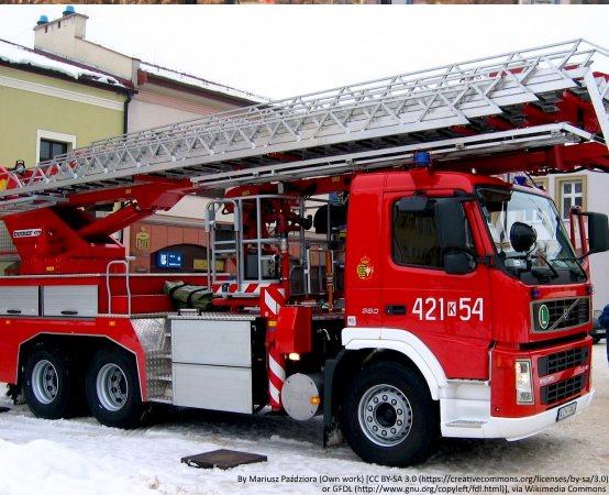 KPPSP Zawiercie:      Uroczyste przekazanie i poświęcenie samochodu ratowniczo-gaśniczego dla jednostki OSP Żerkowice